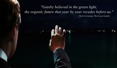 the great gatsby the green light quotes